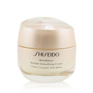 NEW Shiseido Benefiance Wrinkle Smoothing Cream 50ml Womens Skin Care