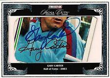 GARY CARTER 2008 Tristar Signa Cuts Autograph 1/5 HOF New York Mets