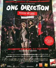 Affiche cinéma ONE DIRECTION 120x160cm Poster WHERE WE ARE / 1D / Concert / Live