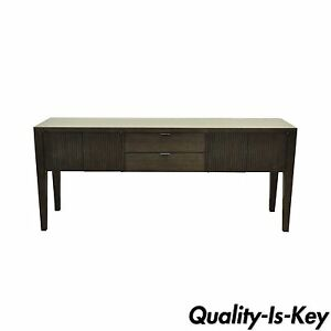 """80"""" Room & Board Bamboo Timbre Maria Yee Console Credenza Cabinet Sideboard"""