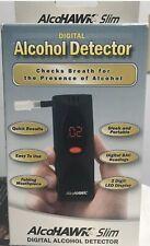 AlcoHawk Digital Breath Alcohol Tester, Detector / Ultra Slim (Brand NEW!!)