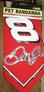 Dale Earnhardt Jr. # 8 LARGE PET THIRTY INCH BANDANNA ! FREE SHIPPING !