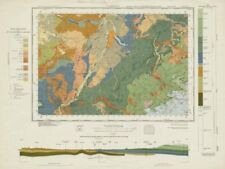 Cambridge. Geological survey map. Sheet 188. Cambridgeshire Newmarket 1965