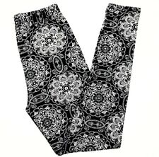Buttery Soft Christmas Snowflake Legging Tall & Curvy XL Holiday Mandala Snow TC