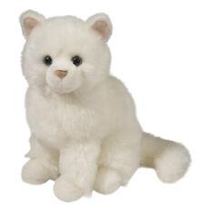 # New Douglas Cuddle Toy Stuffed Animal Plush Snowball White Cat Kitten Persian