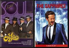 Sweet Soul Music - Chi-Lites (DVD, 2006) & The Sapphires (DVD, 2013)