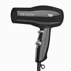 REVLON HAIR DRYER Blower Styler 1875W Compact Blow Dryer for Travel - Black
