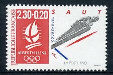 STAMP / TIMBRE FRANCE NEUF N° 2674 ** SPORT / JEUX OLYMPIQUES ALBERVILLE SKI