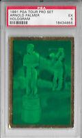 ARNOLD PALMER 1991 PGA Tour PRO SET Hologram Award GOLF Trading CARD PSA Graded