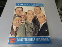La Domingo De Corriere 5 Junio 1966 - La Noche de La República