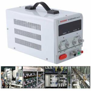 Einstellbar Labornetzgerät Digital DC-Netzteil Trafo 30V 10A Power Supply DE