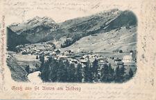 AK aus St. Anton am Arlberg, Tirol    (E10)
