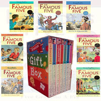 Famous five (15-21) 7 books set Enid Blyton Collection Gift Wrapped Slipcase New