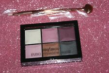 PROFUSION STUDIO EYESHADOW PALETTE 6 COLORS #01  SEALED  NEW + BRUSH