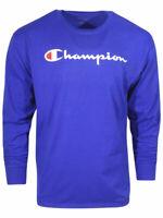 Champion Classic Jersey T-Shirt Men's Long Sleeve Crew Neck
