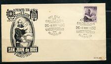 1950 SAN JUAN DE DIOS. SOBRE PRIMER DIA