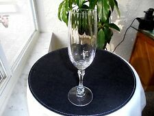 Set of 4 Towle High Quality Optic Bowl Clear Crystal Champagne Flutes