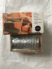 Sagaform Stainless Steel Cheese Grater with Oak Cheese Box New In Box