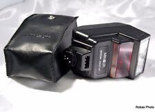 Used Genuine Minolta Maxxum 2800 AF Flash With Case (9105005)