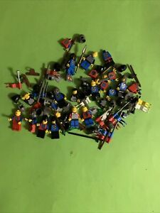 Lot Lego Chevaliers Moyen Age Vintage