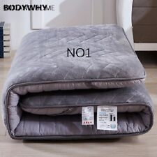 fleece fabric sponge-filled winter resistant cold mattresses Foldable mats King