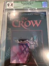 The Crow Dead Time #2 Green label signature  J.obarr and Alex Maleev