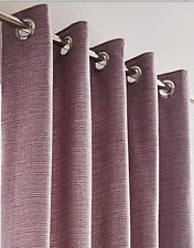 Mila Boucle Lined Eyelet Ring Top Curtains - NOW £10, £15 & £20 A PAIR