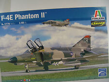 F-4E Phantom II Kampfjet - Länge 40 cm - Italeri Flugzeug Bausatz 1:48 - 2770