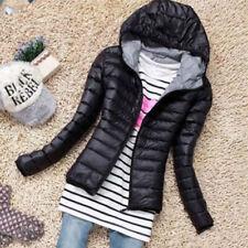 Winter Woman Coats Jacket Hooded Collar Down Jacket Lightweight Parka Outwear