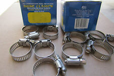 "380 Pcs #12 Stainless*Band & Housing Hose Clamp,1/2""-1 1/4"",Free Shipping.B.B"