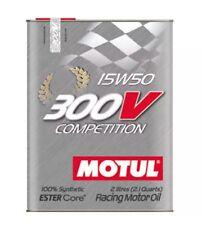 Motul 300V Competition 15W50 2 LITRI per AUTO DA COMPETIZIONE 104244