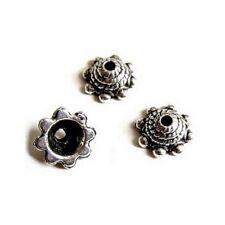 20 Caps calottes coupelles _ CONE 8X8mm _ Perles apprêts création  bijoux _ A369