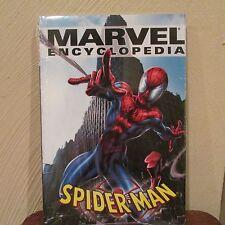 Marvel encyclopedia Spider-Man hard back book