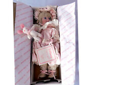 Hamilton Collection Tiffany Doll by Phyllis Parkins Porcelain Doll 1992 NIB