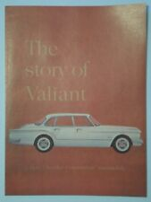PLYMOUTH VALIANT ORIGINAL 1960 USA Marketing petit format sales brochure-CHRYSLER