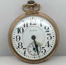 Antique 16j Elgin BW Raymond Double Roller Pocket Watch