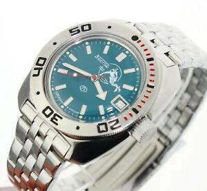 Vostok Amphibia russian diver watch 200m. sub. 710059