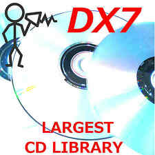 Yamaha DX7 DX5 TX7 TX802 TX816 FM7 FM8 CDROM Largest Library Program Patch Sound