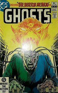 Discover The Burton Method In Ghosts No 111 Comic.1982 DC Comics.