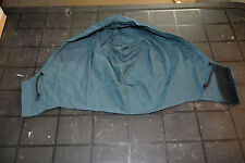 Used Canadian air force hood for blue rainsuit size unknown (bte#140)