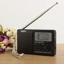 Portable FM/AM/SW Radio Wide Band Receiver LCD Digital FM Pocket Radio DC 5V Hot