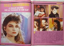 ELLI MEDEIROS => Coupure de presse 2 pages 1987 !!!