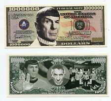 Leonard Nimoy  Star Trek  MILLION   DOLLAR  BILL