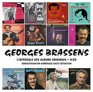 Georges Brassens L'Intégrale Des Albums Studio Coffret 14 CD