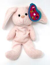 "Avon 1998 Full O Beans April Diamond ""Twinks"" Bunny Rabbit Easter Plush Stuffed"