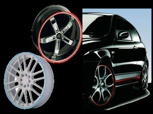 Stripe per cerchi auto con applicatore kit per 4 cerchi adesivo 3M™ SERIE 580E