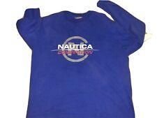 Vintage 90's Nautica Competition Longsleeve T-shirt Sz XXL