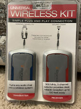 New HTF XRocker Universal Wireless Kit for Sound Chair Gaming Music TV
