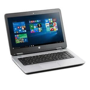 HP ProBook 640 G2 i5 6300U 8GB 256GB SSD NVMe NEU FULL HD CAM Windows 10 B-Ware