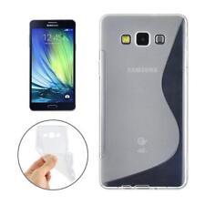Samsung Galaxy A3 (2017) A320F TPU Tasche Schutzhülle Hülle Case - S-Line Clear